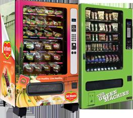 healthy snack machine
